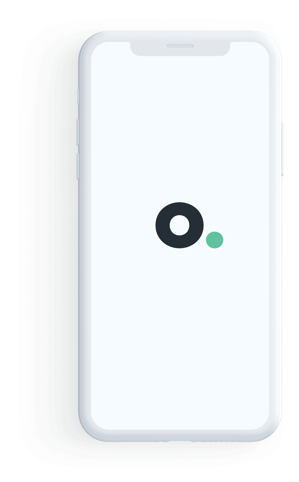 Octave Agency Logo in a Mobile Screen